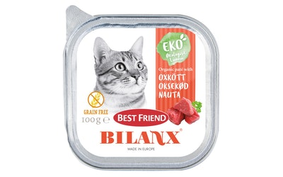 BF Bilanx kissan patee 100g nauta viljaton luomu