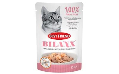 Best Friend Bilanx 55g Tonnikalaa ja katkarapuja kalaliemessä