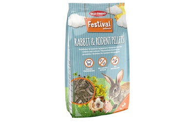 Best Friend festival rabbit rodent pellets 1kg