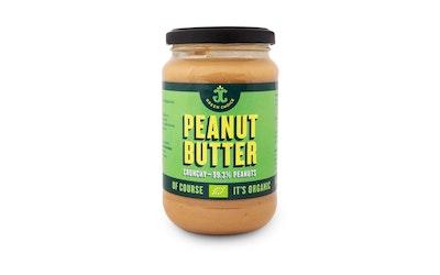 Green Choice Crunchy maapähkinävoi 350g luomu