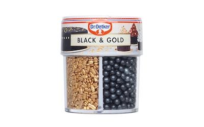 Dr Oetker black&gold koristerakeet 83g