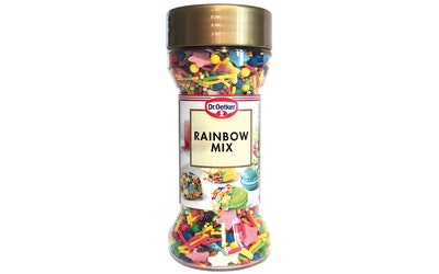 Dr.Oetker rainbow mix koristerakeet 50g