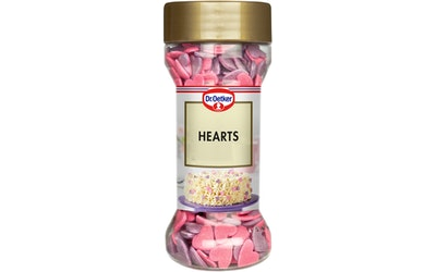 Dr.Oetker koristerakeet 40g hearts