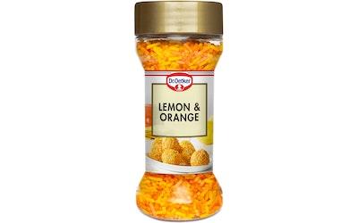 Dr.Oetker koristerakeet 50g lemon&orange
