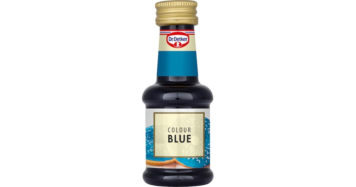 Sininen Elintarvikeväri