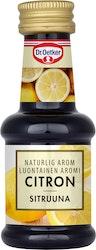Dr. Oetker Luontainen sitruuna-aromi 30ml