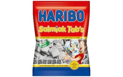 Haribo salmiakki tab's 135g