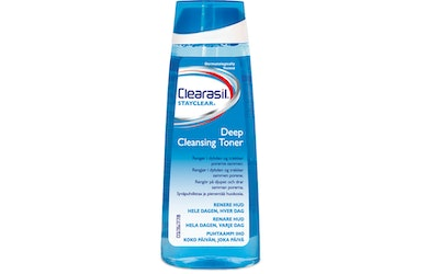 Clearasil deep cleansing lotion kasvovesi 200ml