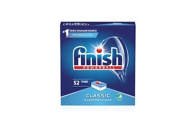Finish konetiskitabletti 52kpl Classic
