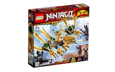 Lego Ninjago 70666 Kultainen lohikäärme