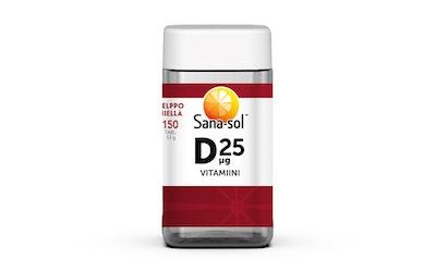 Sana-sol D25µg vitamiini 150tabl/53g