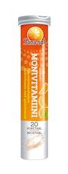 Sana-sol Monivitamiini appelsiininmakuinen 20poretablettia/86g