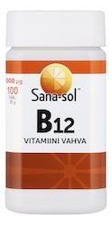 Sana-sol B12-vitam 1000µg 100tabl/30g
