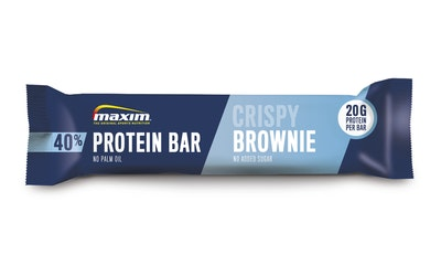 Maxim Protein Bar 40% 50g crispy brownie