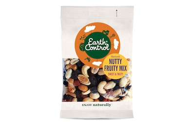 Earth Control nutty fruit mix 200g