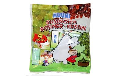 Muumi mini-snacks rusina 9x14g
