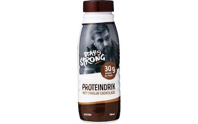 Stay Strong proteiinijuoma 500ml suklaa - kuva