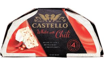 Castello white valkohomejuusto 150g chili