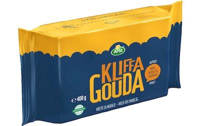 Arla Kliffa Gouda juusto 400g laktoositon