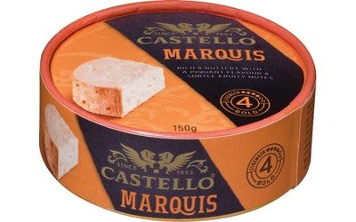 Castello marquis puna-valkohomejuusto 150g