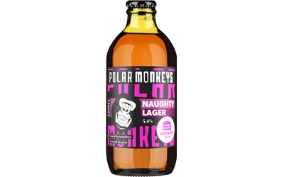 Polar Monkeys Naughty Lager 5,4% 0,33l