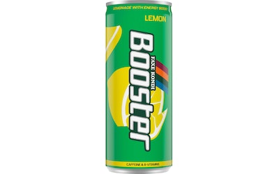 Booster Energy Drink Lemon Edition 0,33l