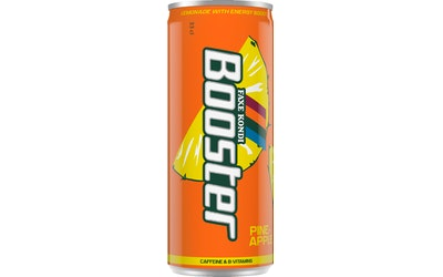 Booster Energy Pineapple 0,33l