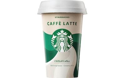 Starbucks seattle latte jääkahvi 220ml
