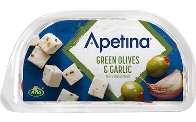 Arla apetina snackjuusto 100g oliivi-valkosipuli