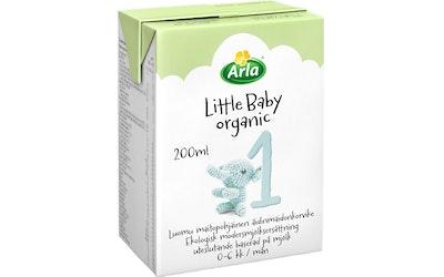 Arla little baby äidinmaidonkorvike 1 0-6 kk 200ml luomu