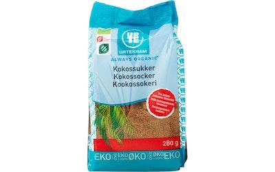 Urtekram kookossokeri 280 g luomu