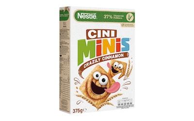 Nestlé Cini Minis 375g kanelinmakuisia täysjyvävehnä-riisimuroja