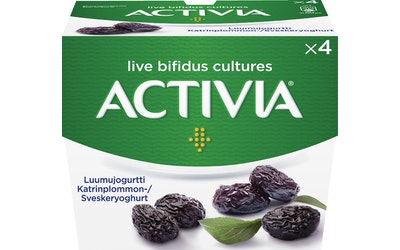Danone Activia 4x125g luumujogurtti