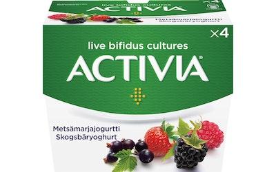 Danone Activia 4x125g metsämarjajogurtti