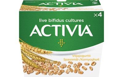 Danone Activia 4x125g viljajogurtti