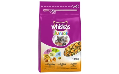 Whiskas Junior Kanaa1,2kg