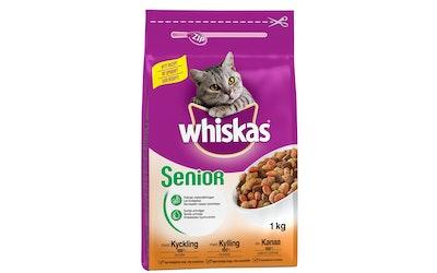 Whiskas 1kg Senior Kanaa