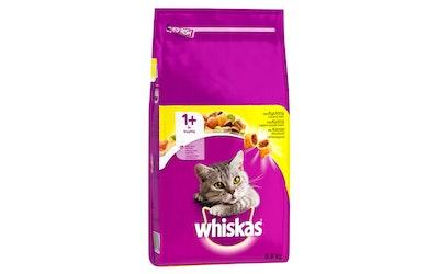 WHISKAS 1+ Kanaa 3,8kg täysrehua aikuisille kissoille