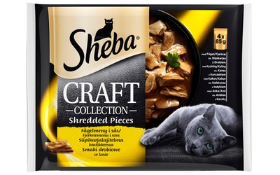 Sheba Craft lajitelma 4x85g siipikarja