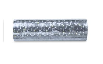 Hologrammi hopeanvärinen serpentiini