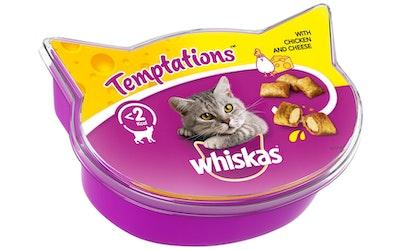 Whiskas Temptations 60g kana ja juusto