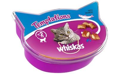 Whiskas Temptations 60g lohi