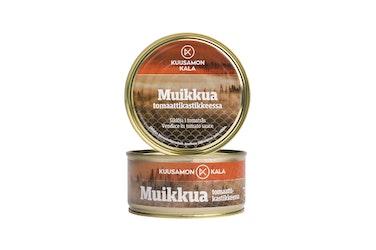 Kuusamon Muikku tomaattikastikkeessa 330/260g