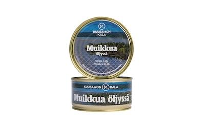 Kuusamon muikku öljyssä 330/260g