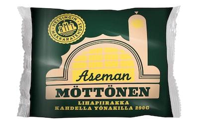 Helsingin Makkaratehdas aseman möttönen lihapiirakka kahdella yönakilla 290g
