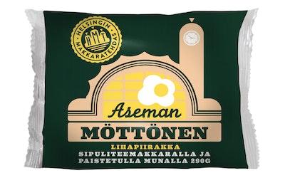 Helsingin Makkaratehdas Aseman Möttönen lihapiirakka sipulitee & paistettu muna 290g