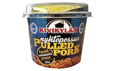 Kivikylän Pulled Pork 250g
