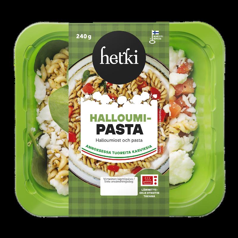 Fresh Hetki Lämmitettävä Salaatti Halloumi Pasta 240g K Ruoka