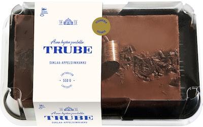 Trube suklaa-appelsiinikakku 550g