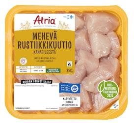 Atria perhetilan kana mehevä rustiikkikuutio fileestä 350g